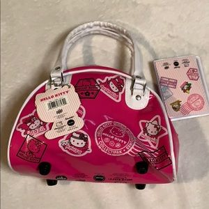 Hello Kitty bag with passport see description